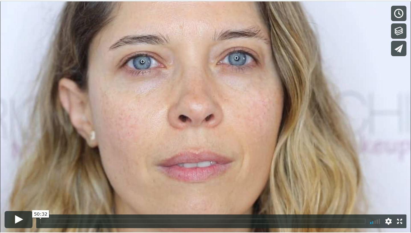 LECCIÓN 7: Ojos Pequeños: Párpado móvil superior pequeño - Párpado Fijo Pequeño